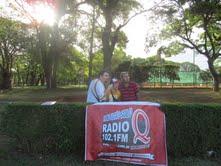 Radio Q y el equipo de rugby tucumano radio junto al seleccionado naranaja