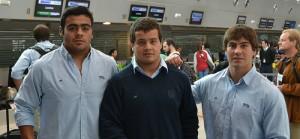 Santiago Iglesias será suplente en su primer test.