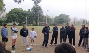 En la charla dada en el club Los Tarcos (Foto: Prensa URT)