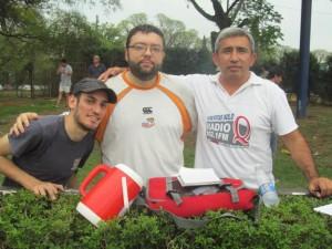 El equipo Rugby tucumano radio a través de Radioq  presto a transmitir la finalisima