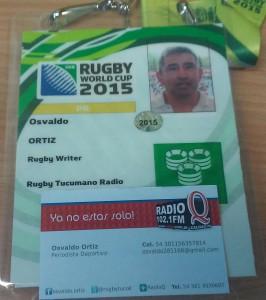 Quorum, la casa de la pasión. por el rugby, junto a radio q y rugby tucumano; aseguraron su presencia en Wembley el domingo