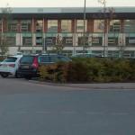 Playa de estacionamiento y vista del St George's Park