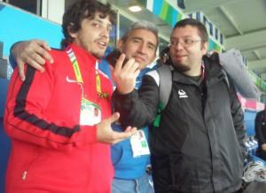 Como siempre, en cuanto a fiesta de los Pumas se refiere,  rugby tucumano y radio q presentes