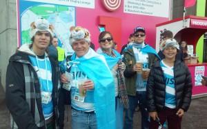 Alegria y presencia argentina