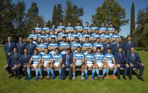 Los Pumas posaron para la foto oficial donde están los 26 convocados.
