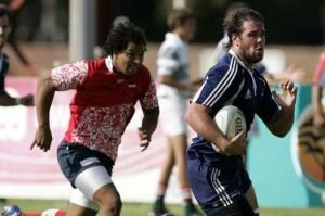 Benja prometió regalar una prenda para sortear en Rugby Tucumano.