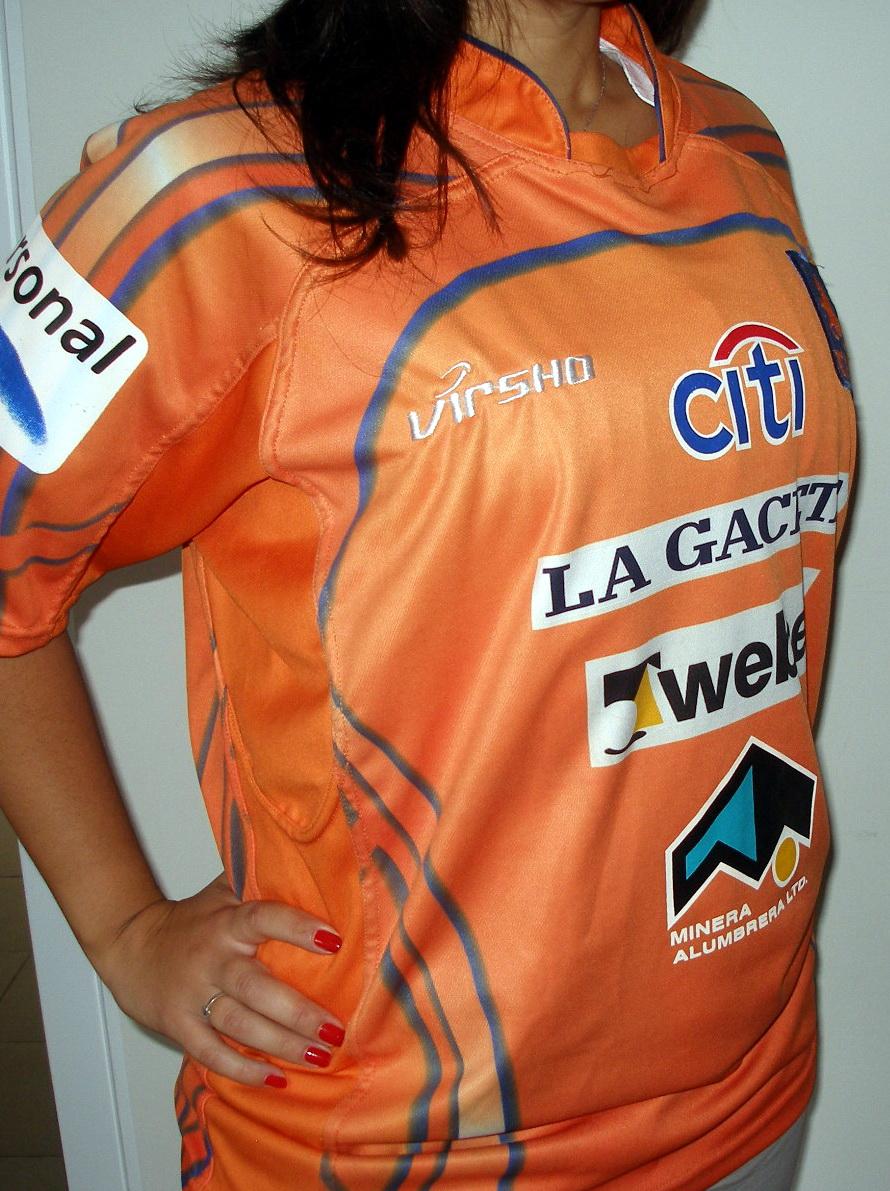 La Naranja que ganó el Cross Border 2010.