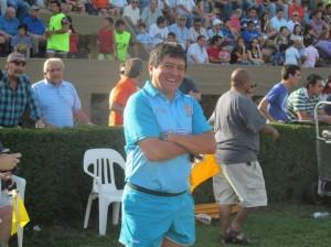 Carlos Chato Pintos, el árbitro designado para la final que definirá el título del Regional.