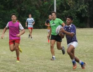 Los juveniles entrenaron a full para el viaje. (Foto: URT)