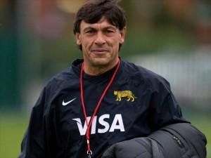 El entrenador de Los Pumas tuvo una charla abierta con Rugby Tucumano. (Foto: NA)