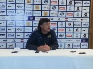 El entrenador Daniel Hourcade fue claro y preciso. (Foto: Rugby Tucumano)
