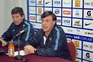 El Huevo Hourcade anunció el plantel junto a José Santamarina (Foto: UAR)