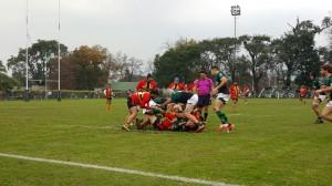 Tucumán Rugby fue contundente ante Cardenales (Foto: F. Espósito)