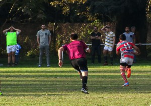 Carrera al try.