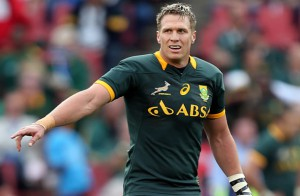 El capitán de los Springboks es baja por fracturavde maxilat
