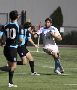 Liso Ahualli en el America Rugby Championship