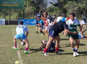 El seleccionado tucumano entrenó en la sede del Jockey Club. (Foto: Prensa URT)