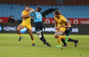 The Vodacom Bulls and the Jaguares Super Rugby