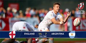 Seven Inglaterra - Argentina