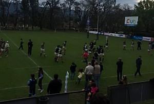 El festejo de tucumán Rugby tras ganar un partido difícil (Foto: Manfredo Aguirre, vía twitter)