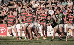 Tucumán Rugby logró una gran victoria ante Huirapuca. (Foto: Sergio Herrera)