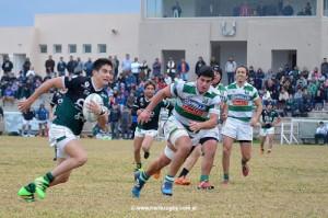 Tucumán Rugby ganó y volvió a la cima. (Foto: J.Skaf, Norte Rugby)