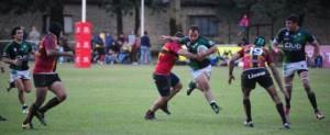 Tras su victoria ante Cardenales, Tucumán Rugby es el nuevo puntero. (Foto: La Gaceta)