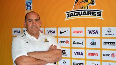 Las primeras frases de  Ledesma como entrenador de los Jaguares