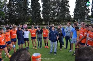Alvaro Galindo y Mariano Odstrcil tendrán como nuevos compañeros a Nicolás Domínguez y Diego Vidal. (Foto: Norte Rugby)